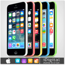 "Originale apple iphone 5c sbloccato il telefono mobile 1 gb di ram 8 gb/16 gb/32 gb retina 4.0 ""ips ios 8 dual core 1080 p 3g wcdma smartphone(China (Mainland))"