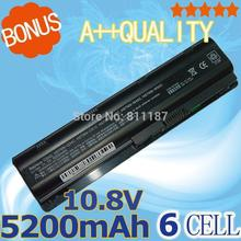 5200mAh Battery for HP Pavilion DV3 DM4 DV5 DV6 DV7 G4 G6 G7 635 for Compaq Presario CQ56 G42 G62 G72 MU06 593553-001 593554-001(China (Mainland))