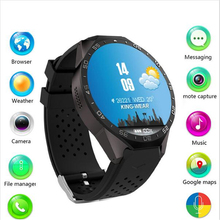Buy 3G Kingwear KW88 Smart watch 1.39''inch Amoled 400*400 Smart Watch 3G Calling 2.0MP Camera Pedometer Heart Rate PK Finow X5 X6 for $92.33 in AliExpress store