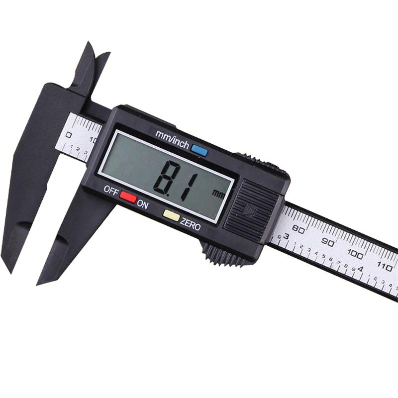 Electronic Measuring Tools : Mm plastic digital vernier caliper calibre