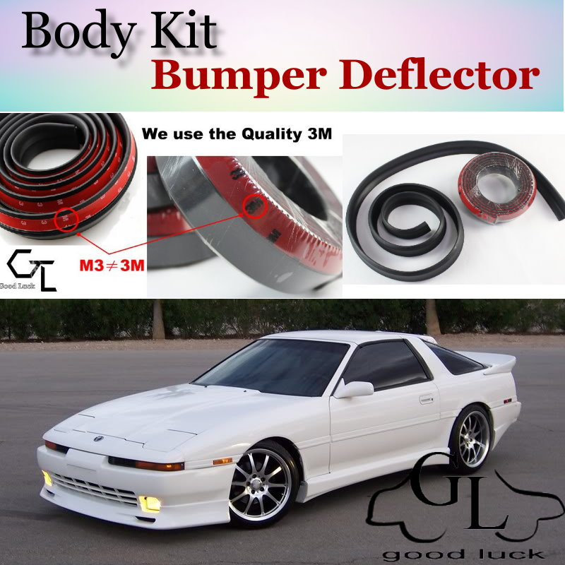 For TOYOTA Celica Supra A70 A80 Bumper Lip / Front Spoiler Deflector For TOPGEAR Fans Car View Tuning / Body Kit / Strip Skirt<br><br>Aliexpress