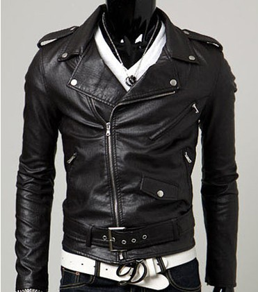 Spring Autumn 2015 New Brand Male Faux Leather Jacket Man Motorcycle Bomber Biker Mens Leather Jackets And Coats Plus Size M-3XL(China (Mainland))