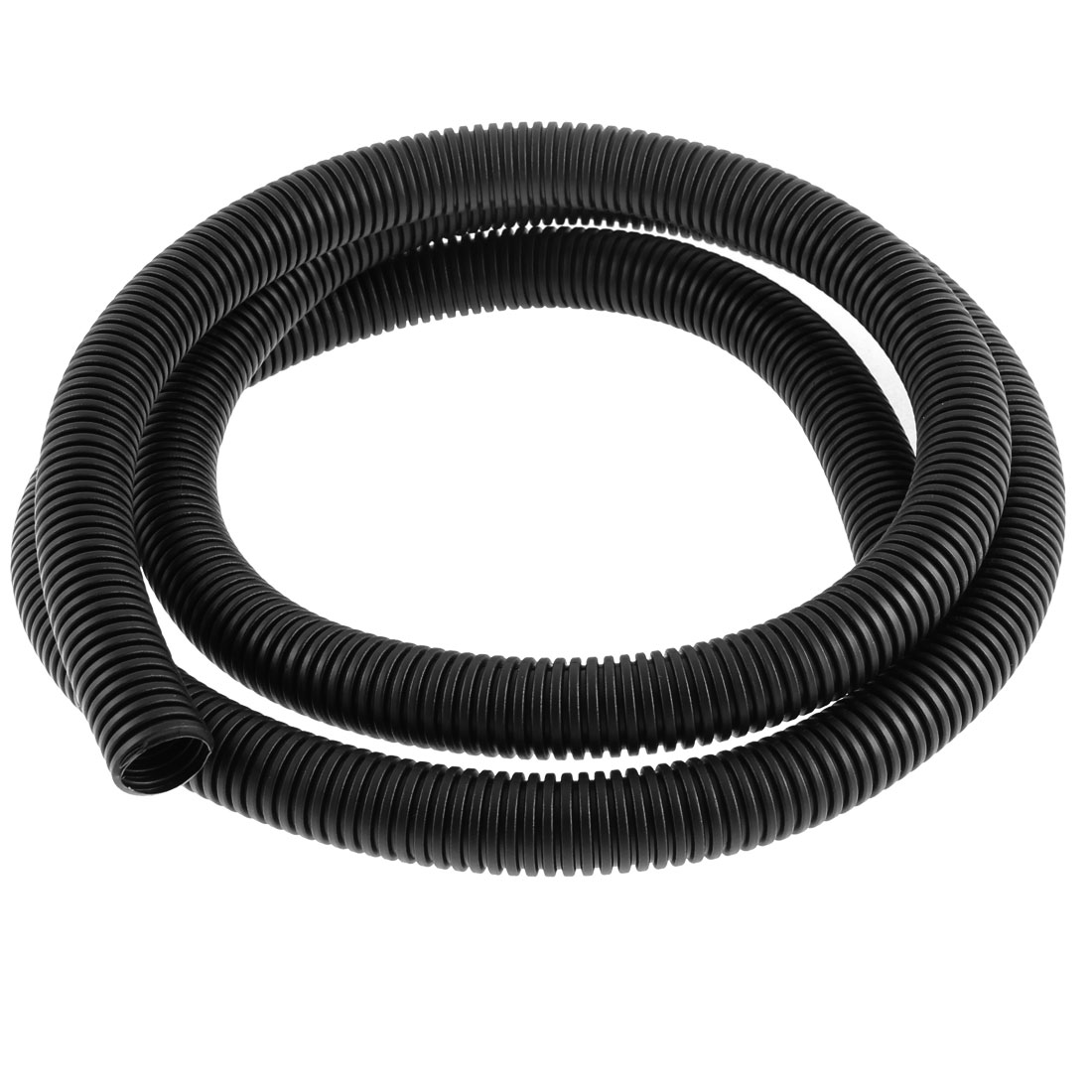 1.6M 5ft 16mmx20mm Black PVC Flexible Corrugated Tubing Cable Conduit Sleeve(China (Mainland))