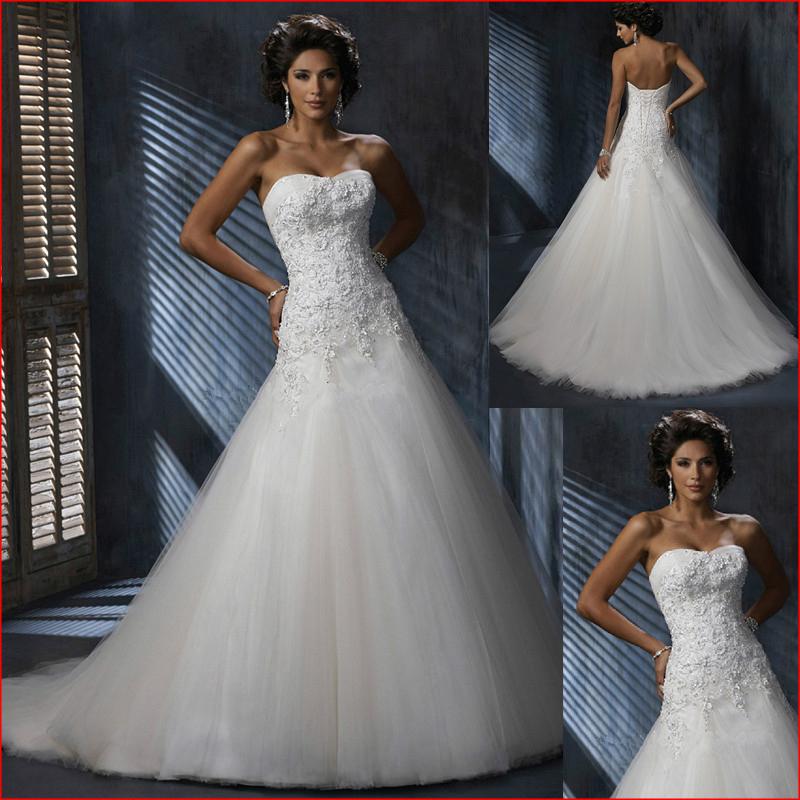 Buy hot sale cheap mermaid wedding dress for Cheap lace mermaid wedding dresses