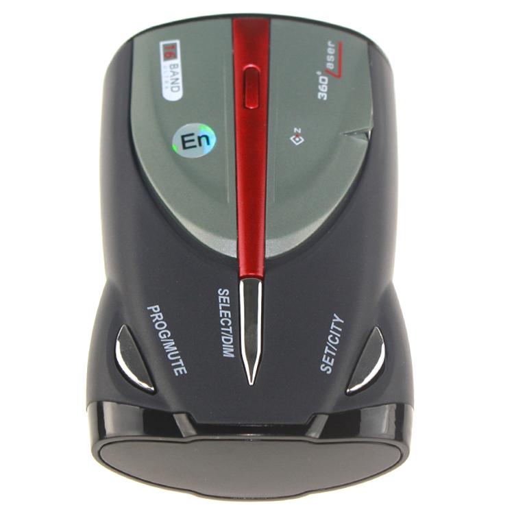 Hot OEM Cobra XRS 9880 Car Detector Anti Car Radar Detector Car Vehicle Speed Control Radar Detect Russian/English Voice #90fe(China (Mainland))