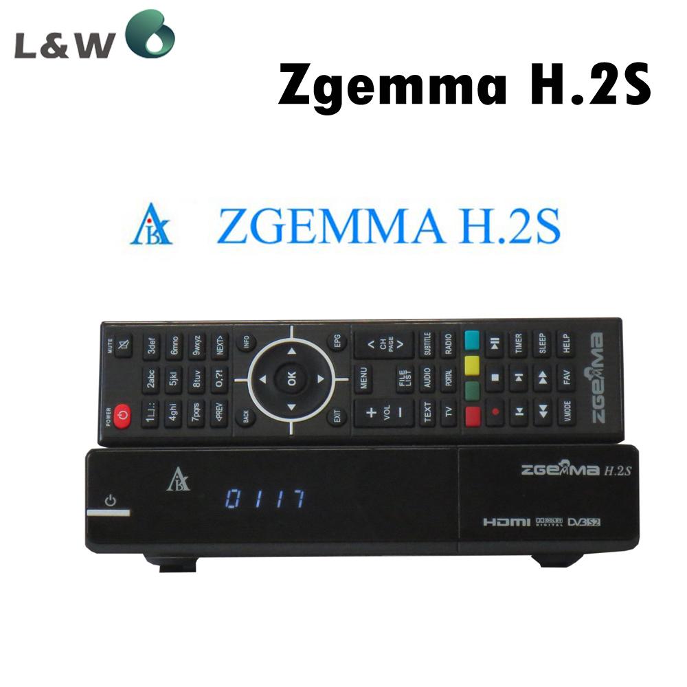 Zgemma Star H.2S Satellite Receiver Two DVB-S2 Tuner Enigma 2 Linux OS Zgemma-star H.2S Full HD 2000 DMIPS CPU PROCESSOR(China (Mainland))