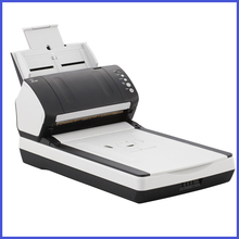 Brand New Double platform fi 7240 document Scanner ADF-Auto Document Feeder for size A4 Professional document scanners(China (Mainland))
