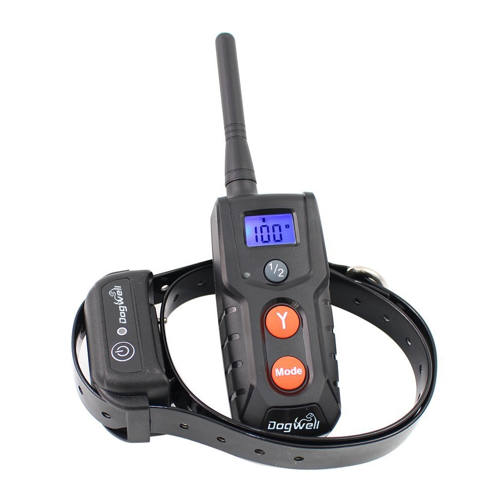 Dogwell DW805-1 984 Ft Rechargeable and Fully Waterproof Remote Dog Training Collar with Light , Beep, Vibration and Shock(China (Mainland))
