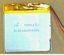555152 аккумулятор MP3 MP4 аккумулятор литий-ионный аккумулятор элементный литий-полимерный аккумулятор