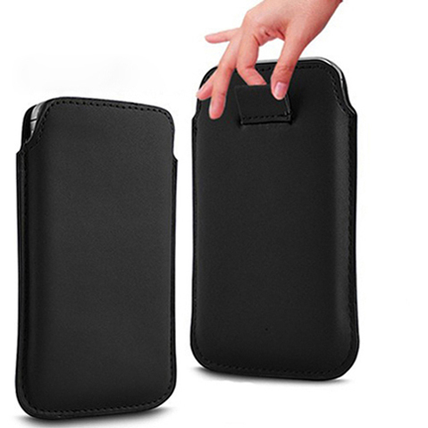 Bulk novelty Leather PU Pouch Case Bag sony xperia e Dual c1505 Cover Pull Function - ZhaoChen Technology store