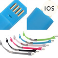 USB Cable Bracelet Data Charging Line Wristband For iPhone Cellphone Charger Sync Data