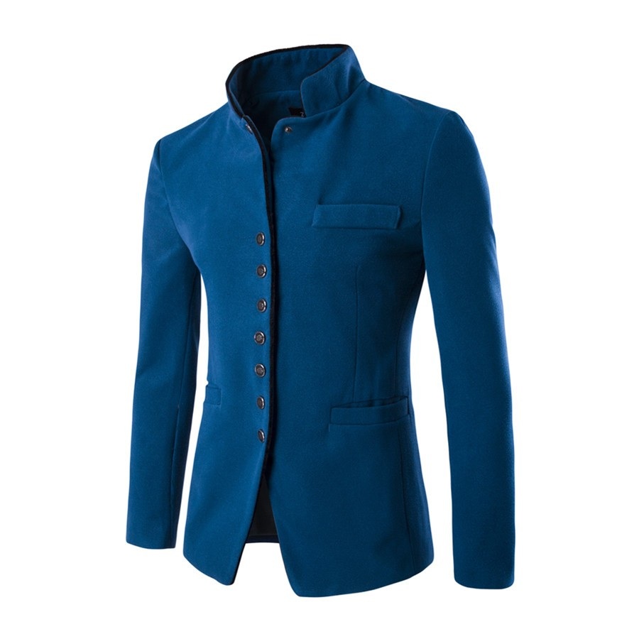 HTB1pDNxNVXXXXajXXXXq6xXFXXX4 - 2017 new spring autumn winter free style Men's cloth leisure single-breasted favors Chinese tunic suit jackets Casual suit