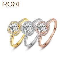 ROXI brand 2015 New arrival,delicate crystal rings,FREE SHIPPING,wedding ring,best gift for a girlfriend,Manual mosaic,101009438(China (Mainland))