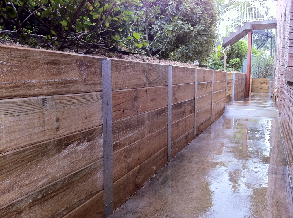 Sleeper Retaining Wall Steel Posts Galvanised C Section In