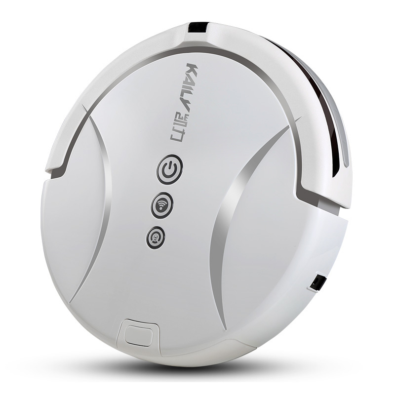 free shipping intelligent robot vacuum cleaner sweeping automatic charging mopping WiFi sweeper slim remote control(China (Mainland))