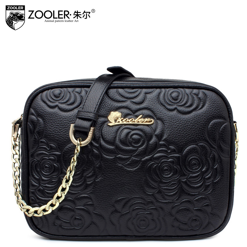 Zooler Famous brand top quality leather handbags 2016 new arrival fashionable mini shoulder Messenger bag embossed<br><br>Aliexpress
