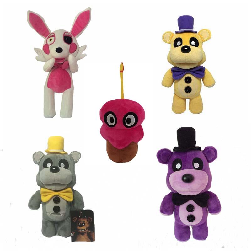 30cm Plush Fnaf Freddy Teddy Bear Toys Stuffed Five Nights At Freddy's Fox Doll(China (Mainland))