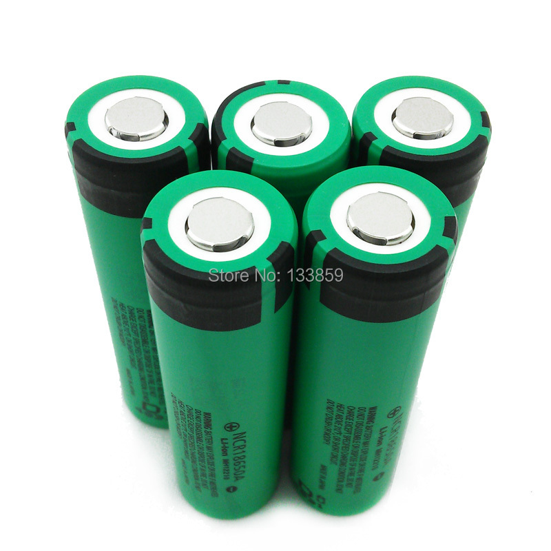 5PCS 100% New Original NCR18650A 3.7V 3100mah NLthium Battery Electronic cigarette applicable for Panasonic(China (Mainland))