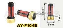 100pieces fuel injector filter  13.8*6*3mm auto parts fuel inejctor service kits  for AY-F104B