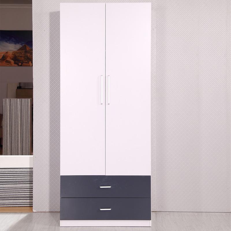 Simple Modern Furniture wardrobe closet plate overall two small children wardrobe storage closet Specials(China (Mainland))