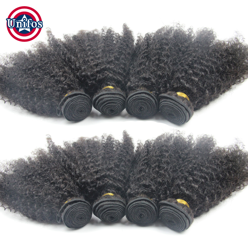 Brazilian Afro Kinky Curly Virgin Hair Weave Wholesale Virgin hair 10 Pcs Cheap Real Human Hair Extensions Tissage Afro Curly<br><br>Aliexpress