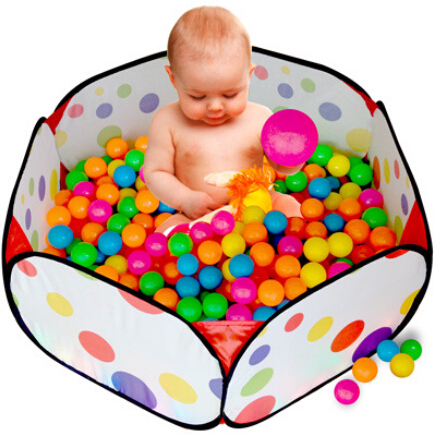 New Arrivals Size 120cm*120cm*38cm Kid Portable Outdoor Indoor Fun Play Toy Tent House Playhut Hut Ocean Ball Pool(China (Mainland))