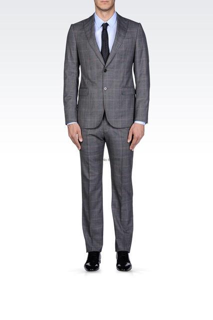 2014 new fashion 30 50 wedding suits for men glen plaid