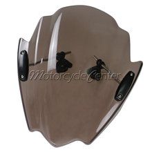 Buy Smoke Motorcycle Street Bikes Wind Deflectors Windshield Windscreen 2006-2014 Yamaha FZ1 FZ1N FZ6 S2 FZ8 FZ 6 8 04 05 06 07 for $63.34 in AliExpress store
