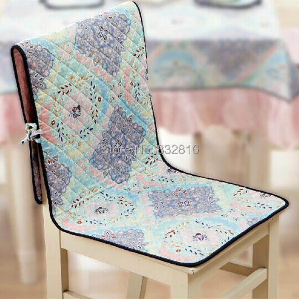 45x135CM High Quality Cotton Modern Printed Chair Covers Double Side Seat Cushion Cover Party Chair Cover(China (Mainland))