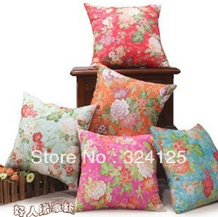 5pcs 42*42cm Free Shipping High quality Orchid Elegant suede fabric Jacquard cushion cover pillow cases