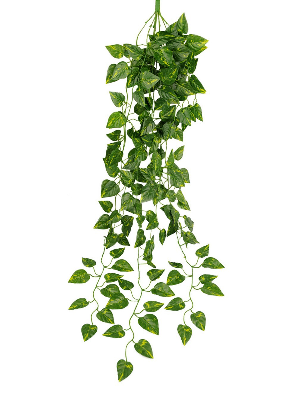 2 Pcs/Lot Artificial Green Garden Plant Simulation Hanging Vine Plant Leaves Garland Home Garden Wall Decoration(China (Mainland))