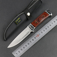 Outdoor knife High quality outdoor survival knife blade material stainless steel K90 Camping knife EDC hand tools free shipping(China (Mainland))