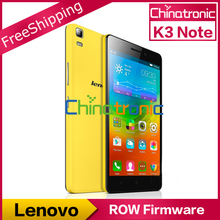 "Original Lenovo K3 Note K50-T3S ROW Firmware Android 6.0 Mobile Phone MTK6752 Octa Core 1.7G Dual SIM 4G LTE 5.5""FHD 2G RAM 13MP(China (Mainland))"