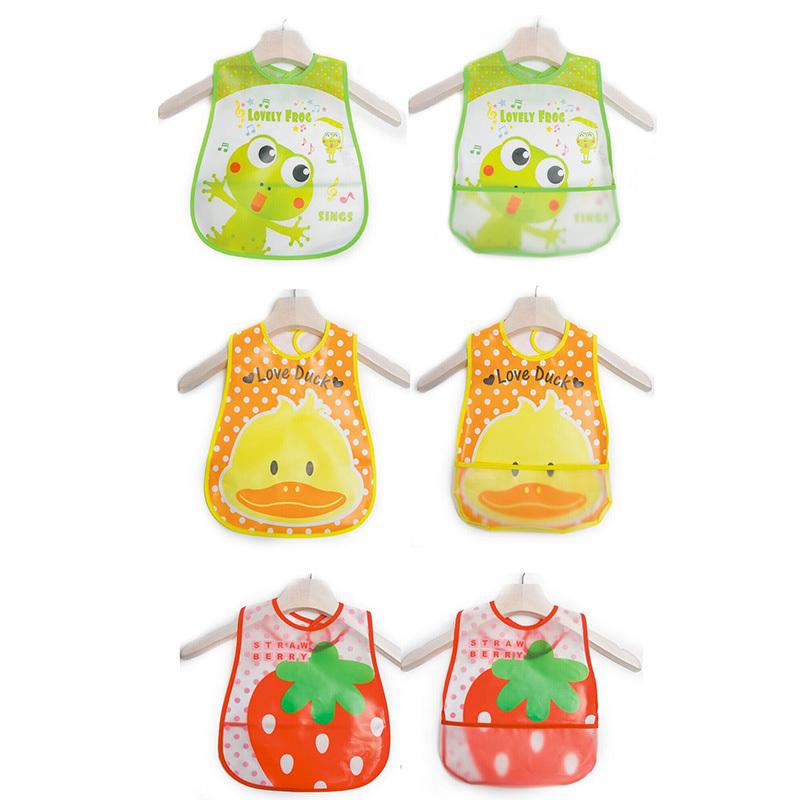 Baby Slabber Baberos Impermeables Animal Bib Lot Waterproof Baby Bib Silicone Baby Boy Girl Bibs Plastic