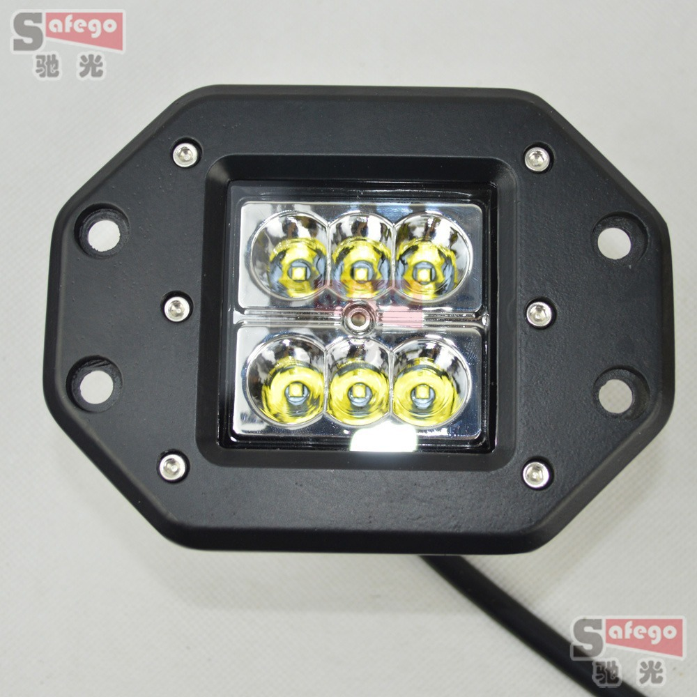 4PCS CREE LED OFFROAD 12V 24V 24W LED WORK LIGHT FOR 4X4 OFF ROAD ATV TRUCK BOAT UTV LED DRIVING LED LIGHT CAR OFFROAD