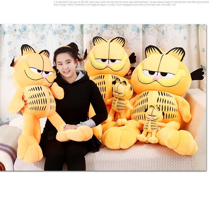 Doll about 30 cm garfield plush toy cat doll birthday gift t8844(China (Mainland))
