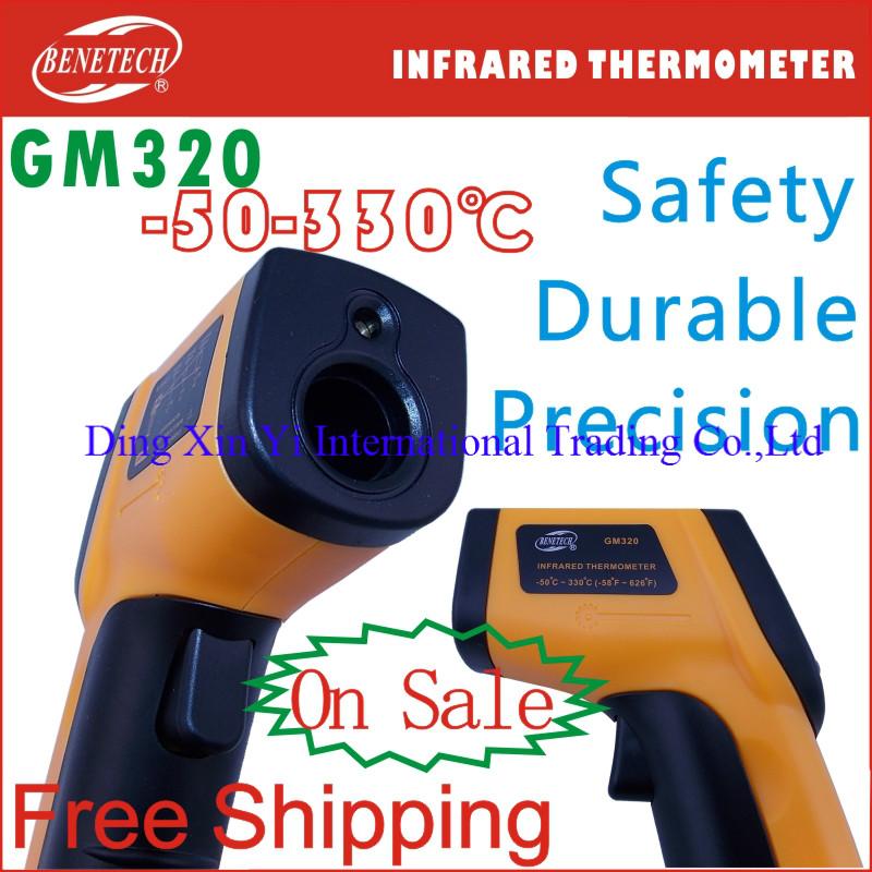 Здесь можно купить  10pcs/lot-- Free Shipping Bentech Digital Infrared Thermometer Temperature IR Laser thermometer Point Gun Non-Contact 330 degree  Инструменты
