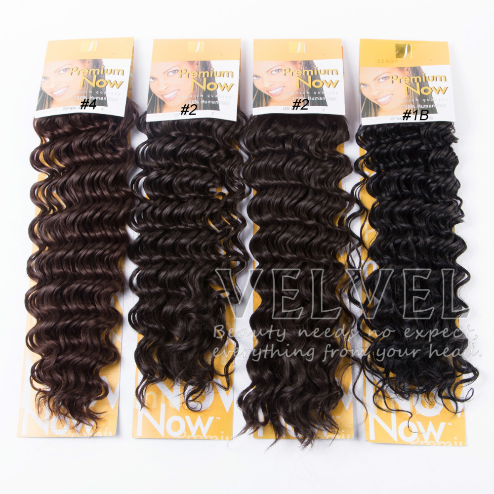 1PC+Free Shipping Premium Now Deep Wave Synthetic Hair ...