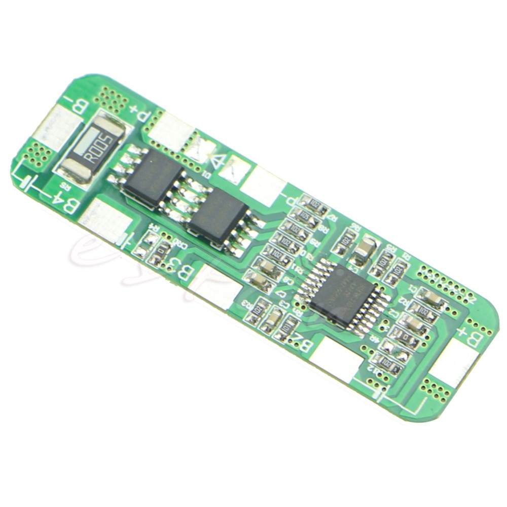 1 PC 4A-5A PCB BMS Protection Board For 3 Packs 18650 Li-ion Lithium B