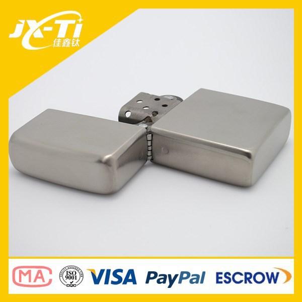 Titanium popular cigarette oil lighter,titanium lighter(China (Mainland))