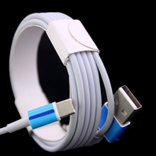 Wholesale price 2m 6Ft 1000pcs/lot micro v8 usb data sync charger cable for iphone 5 5s 6 6s for ipad mini for samsung htc lg(China (Mainland))