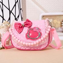 Korean children girls diagonal mini gift present package small bag nursery baby princess bag princess 2-8 years CU177(China (Mainland))