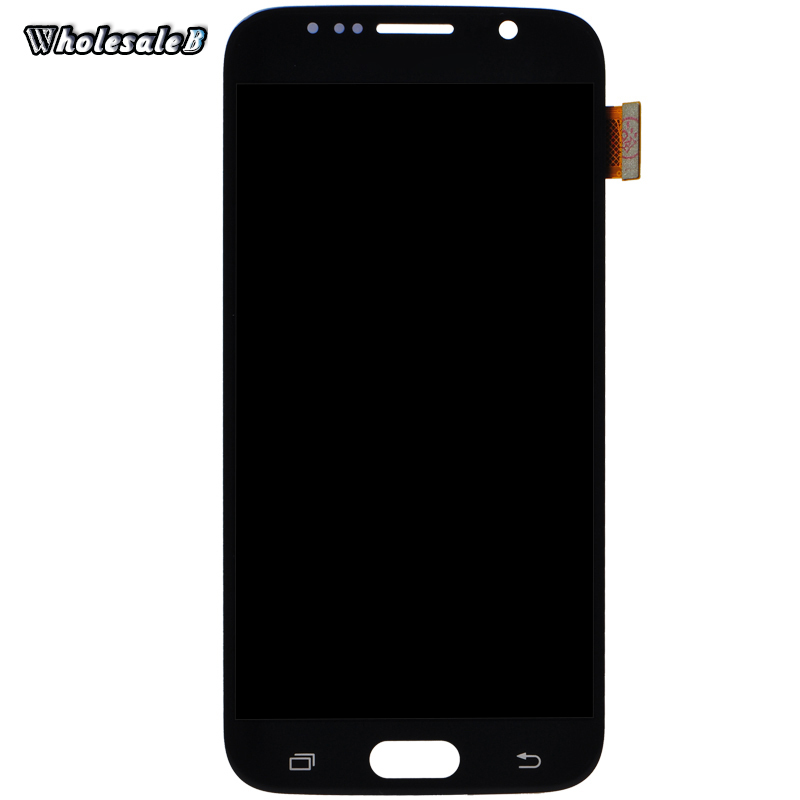 Black LCD Display Digitizer For S6 G9200 Touch Screen Digitizer For Samsung Galaxy S6 G9200 SM-G920 G920F G920I G920X SAM1042(China (Mainland))
