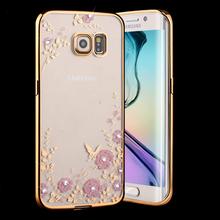Samsung Galaxy A3 A5 A7 A8 A9 2016 J5 J7 S5 S6 S7 Edge G530 Note 3 4 5 Luxury Flower Bling Soft TPU Clear Diamond Case Cover - SHENZHEN KAYKAY TRADE CO., LTD store
