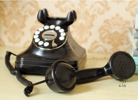 Antique telephones home telephone cored phone Retro Style Telephone Landline Wired Corded Table Telephone for Home Office Phone(China (Mainland))