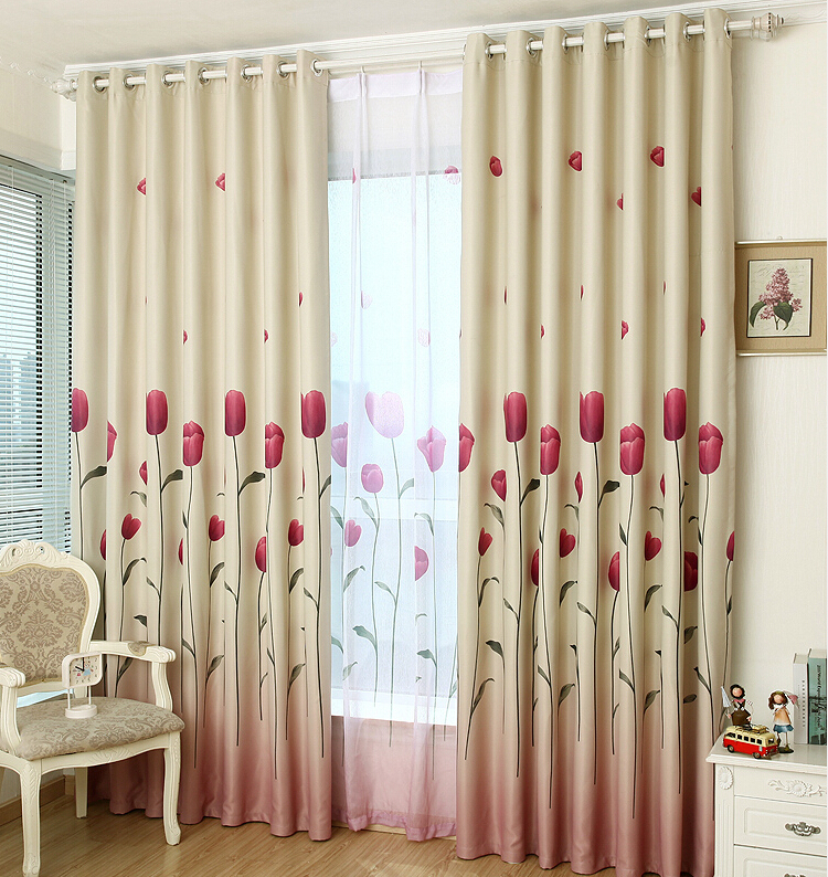 Aliexpress Com Buy Rustic Window Curtains For Living
