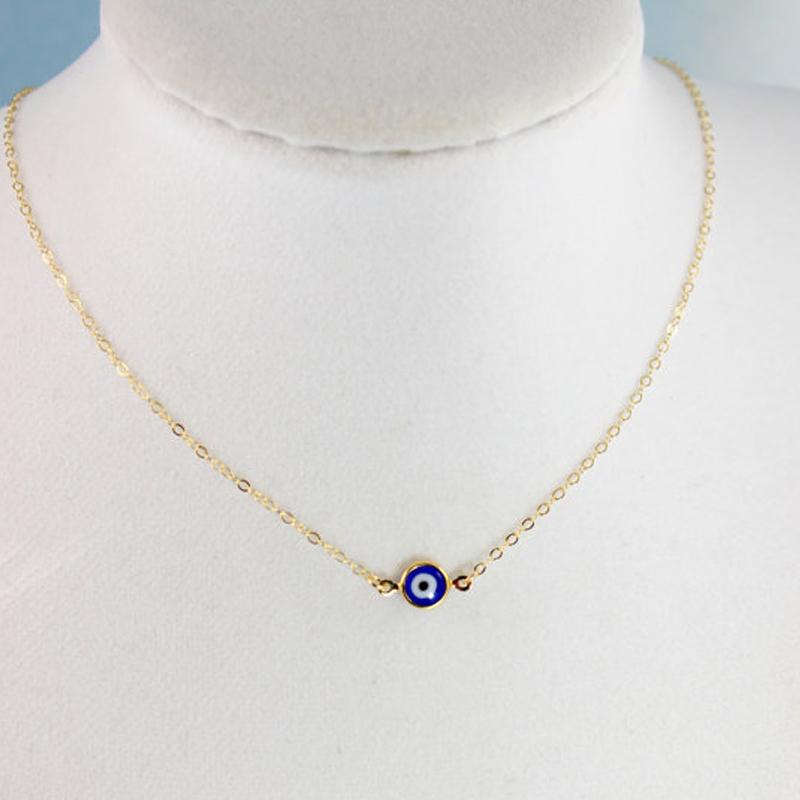 aliexpress buy evil eye necklaces gold blue