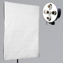 photographic equipment 5 x E27 Socket Lamp Holder with 60x90cm Softbox Photo Studio Lighting Kit softbox Continuous Lighting
