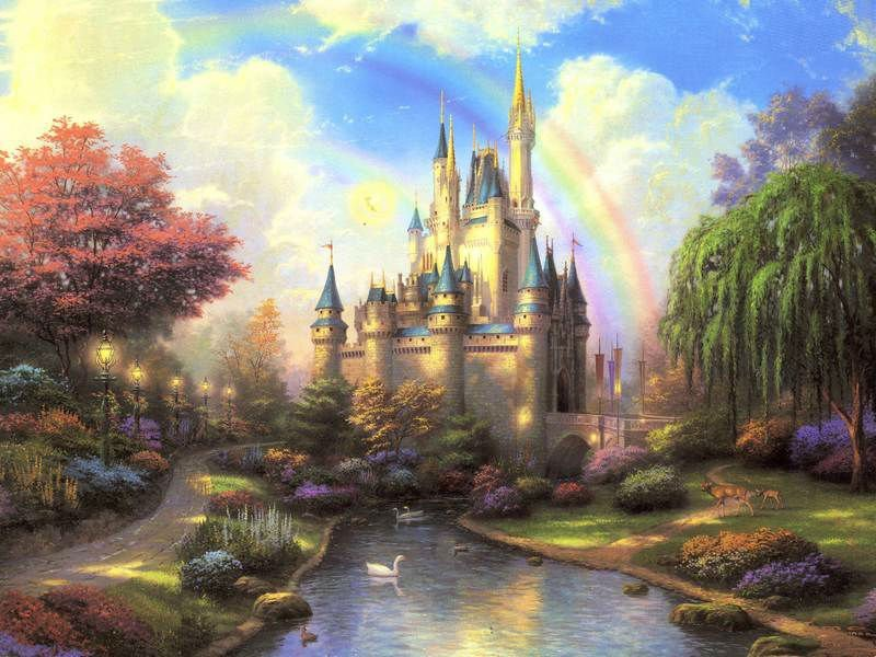 Famous paintings,Thomas kinkade oil painting,pino,House, Auto,pet, wedding photo picture custom print on canvas(China (Mainland))