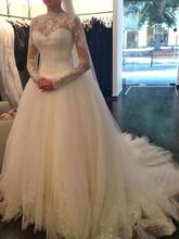 Buy 2016 Long Sleeve Wedding Dress vestidos de noiva Ball Gown Bridal Gown Luxurious Wedding Dress Brides for $114.95 in AliExpress store